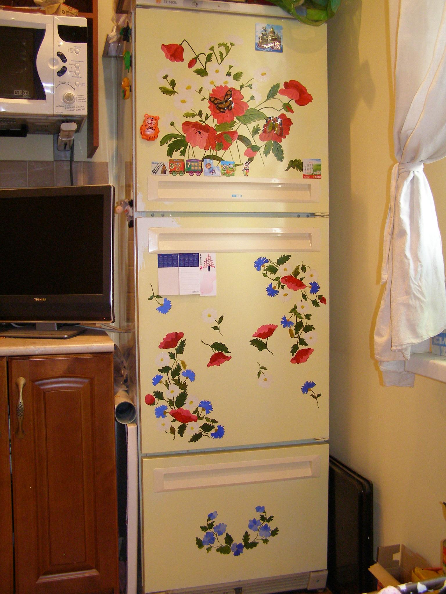 Как обновить старую кухонную мебель своими руками (38) 95